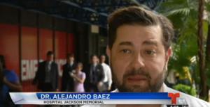 Dr. Baez on Telemundo