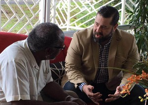 CGHIM CEO meets with Jamaican Health Authorities